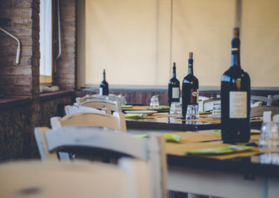 Bed and Breakfast e Osteria Il Ceppo  - Monteriggioni - Siena. La vera cucina toscana